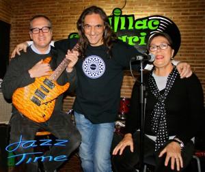 Carmen Cuesta, Chuck Loeb y Jorge Grimaldos