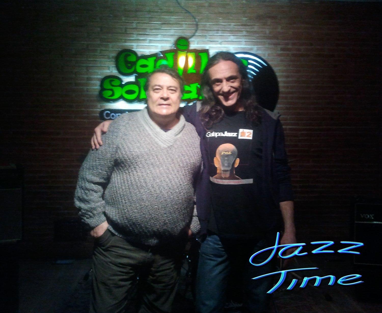 Pedro Ruy-Blas y Jorge Grimaldos