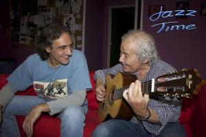 Jayme Marques y Jorge Grimaldos en Jazz Time