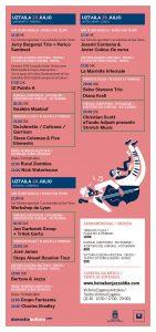 Programa Jazzaldia 2016-2