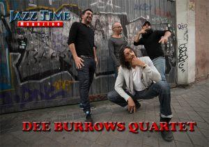 Derrick Burrows Quartet Jazz Time Magazine
