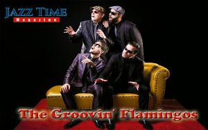 The Groovin' Flamingos en Jazz Time Magazine