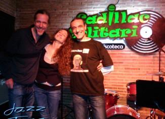 Babel Ruiz, Diego Ebbeler y Jorge Grimaldos