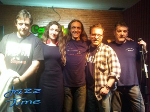 The Black Cat Quartet y Jorge Grimaldos