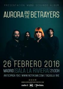 Aurora & the Betrayers Riviera