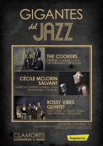 Gigantes del Jazz en Clamores