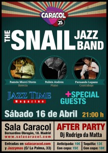 Cartel Caracol Jazz Time Magazine