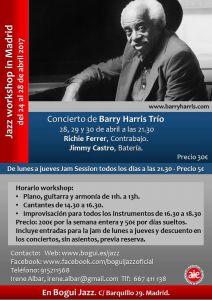 Barry Harris Workshop Jazz Time