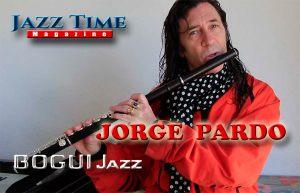 Jorge Pardo Jazz Time Magazine Bogui