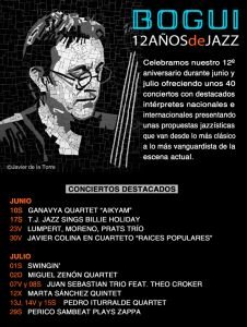 12 Aniversario Bogui Jazz Time Magazine